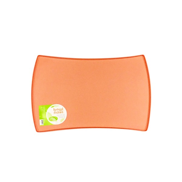 Bowlmates Medium Coral Silicone Dog Placemat