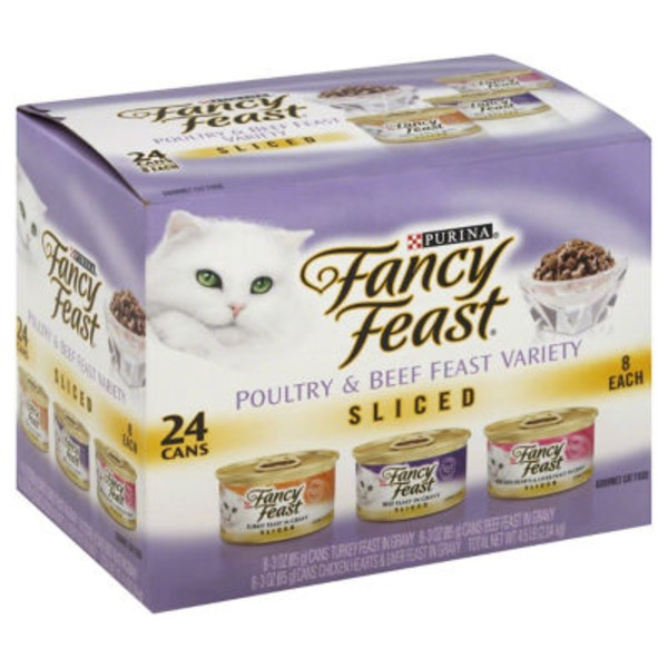 Fancy Feast Sliced Poultry & Beef Collection Cat Food