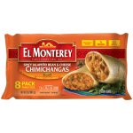 El Monterey® Spicy Jalapeño Bean & Cheese Chimichangas (8ct)