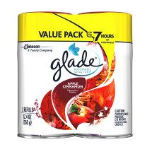 Glade Automatic Spray, Applie Cinanamon, 12.4 oz. (Pack of 2)
