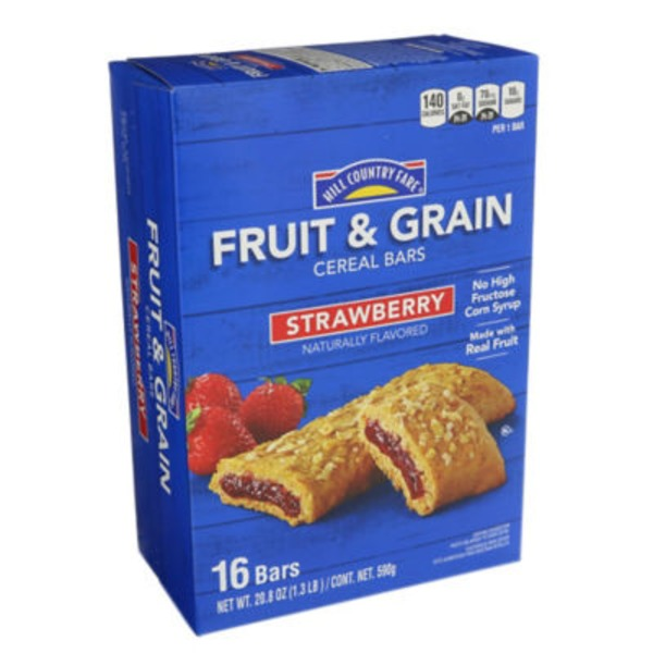 Hill Country Fare Strawberry Fruit And Grain Bars