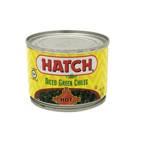 Hatch Diced Hot Green Chiles