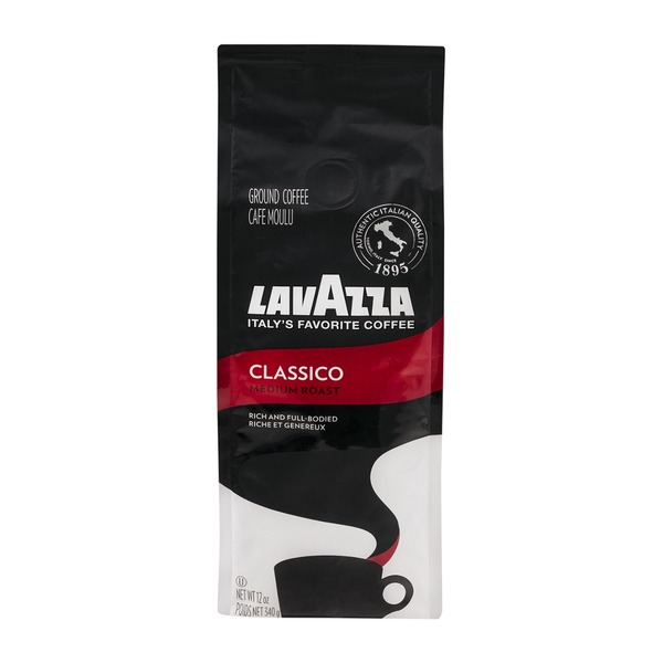 LavAzza Ground Coffee Classico Medium Roast