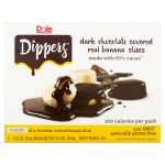Dole® Dippers™ Dark Chocolate Covered Real Banana Slices 6-1.55 oz. Pouches