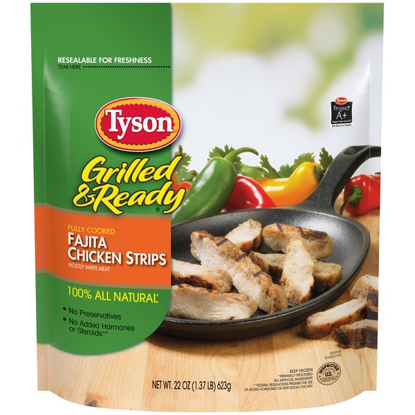 Tyson Grilled And Ready Fajita Strips Chicken