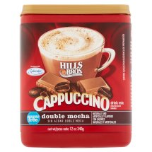 Hills Bros. Coffee Mix, Double Mocha Cappuccino, 12 Oz, 1 Count