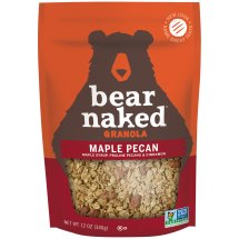Bear Naked 100% Pure & Natural Maple Pecan Granola Cereal, 12 oz