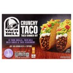 Taco Bell Dinner Kit Crunchy, 12 servings, 8.85 Oz