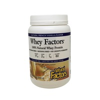 Natural Factors French Vanilla Whey Protein