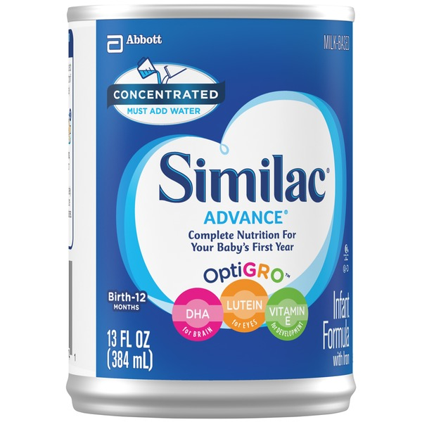 Similac Advance Earlyshield Complete Nutrition Milk Concentrated with Iron Infant Formula