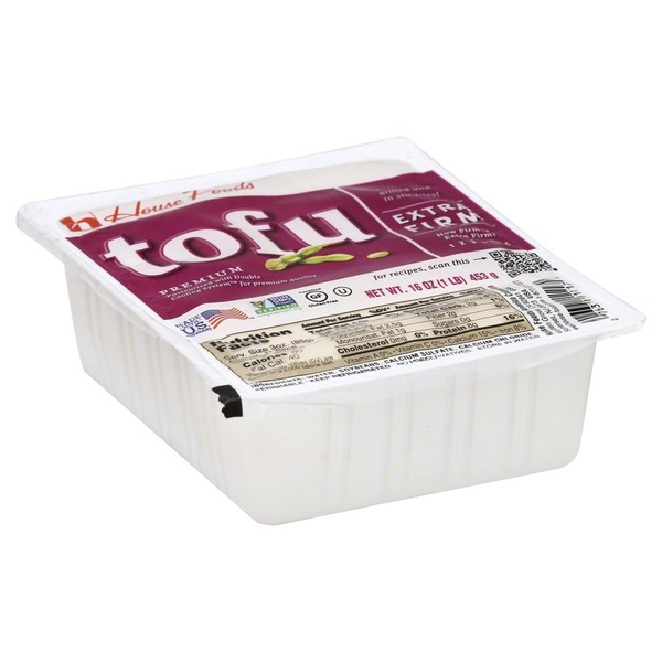 House Foods Tofu, Extra Firm, Premium, Wrapper