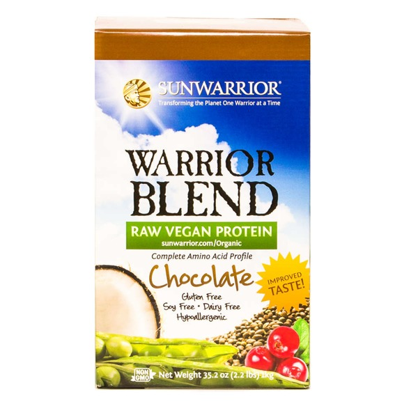Sunwarrior Warrior Blend Raw Protein Chocolate