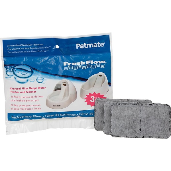 Petmate Fresh Flow Charcoal Filter Replacement Filters