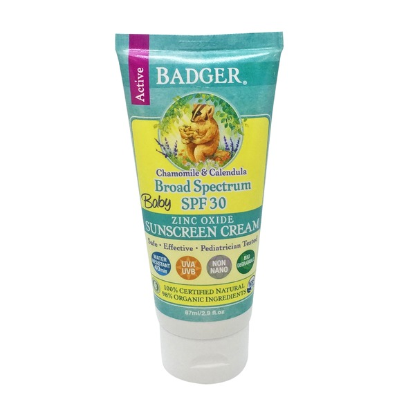Badger Spf 30 Baby Sunscreen Cream