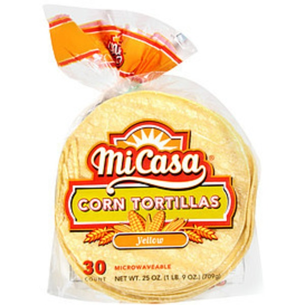 Mi Casa Tortillas, White Corn