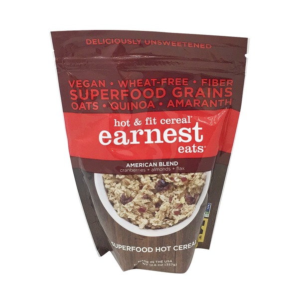 Earnest Eats Hot & Fit American Blend Cereal