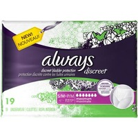 Always Discreet Maximum Classic Cut S/M Underwear