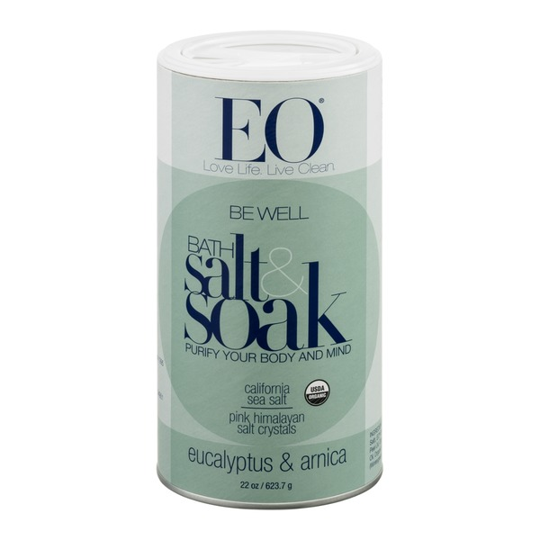EO Be Well Bath Salt & Soak Eucalyptus & Arnica