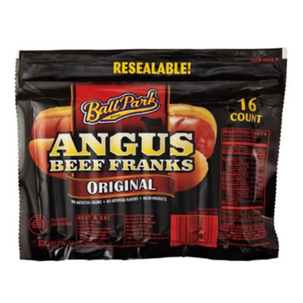 Ball Park Angus Beef Original Franks