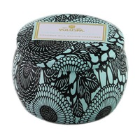 Voluspa Decorative Tin Candle, French Cade & Lavender
