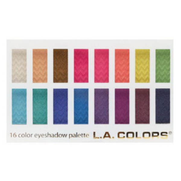 L.A. Color 16 Color Eye Shadow Haute