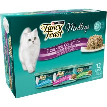 Purina Fancy Feast Medleys Florentine Collection Cat Food 12-3 oz. Cans