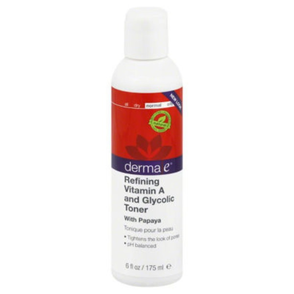 Derma E Anit-Wrinkle Vitamin A Glycolic Toner With Papaya