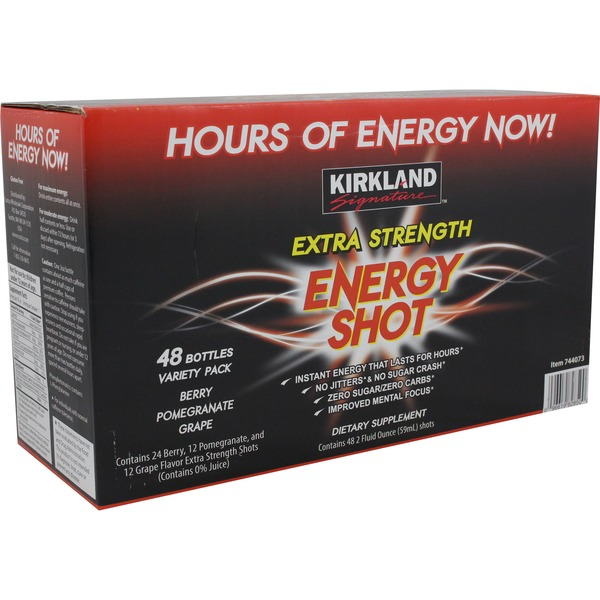 Kirkland Signature Extra Strength Energy Shot