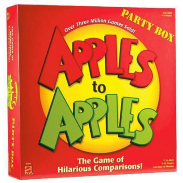 Mattel Apples To Apples Party Box Game
