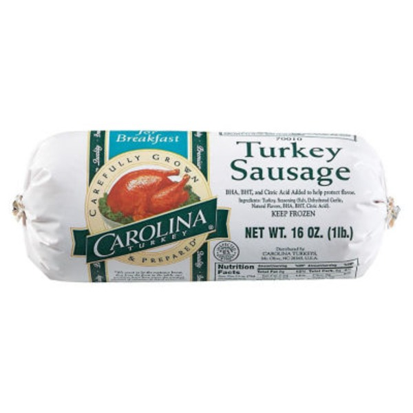Carolina Ground Turkey Sausage