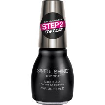 SinfulColors SinfulShine Step 2 Top Coat Nail Color, 0.5 fl oz