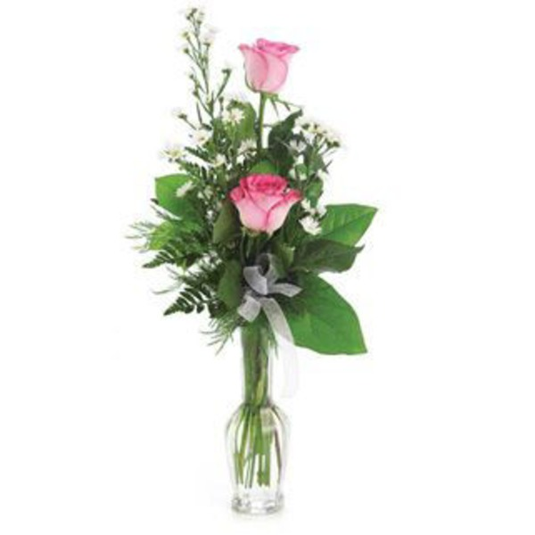 Flowers By Design Standard 2 Rose Bud Vase