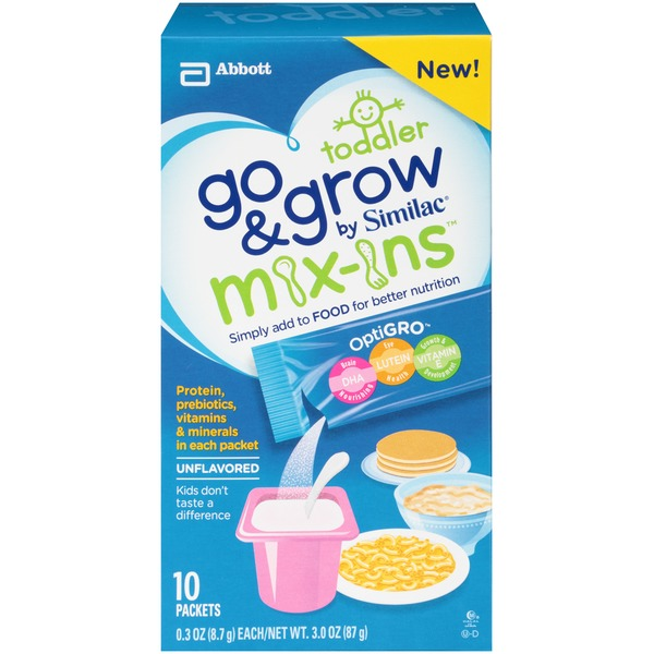 Similac Go And Grow Toddler OptiGro Unflavored  Nutrition Powder