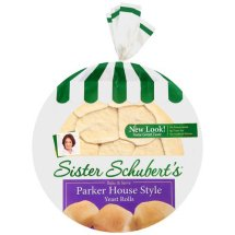 Sister Schuberts Parker House Style Yeast Rolls, 11 Oz