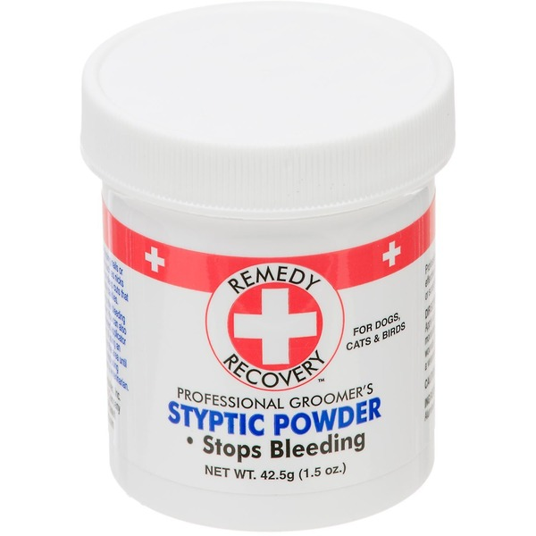Remedy+Recovery Stop Bleeding Styptic Powder, for Dogs, Cats & Birds
