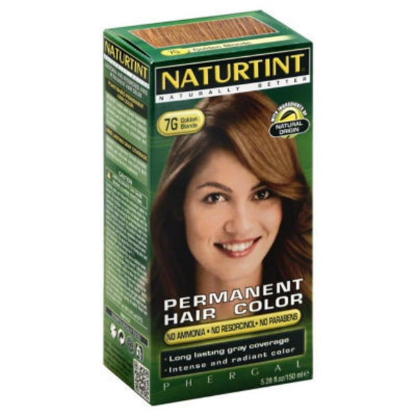 Naturtint Permanent Hair Color - Golden Blonde 7G
