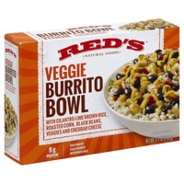 Red's Natural Foods Veggie Burrito Bowl