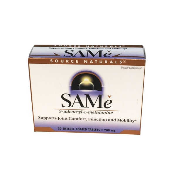 Source Naturals SAMe 200 mg Tablets