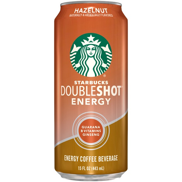 Starbucks Doubleshot Energy Hazelnut Energy Coffee Beverage