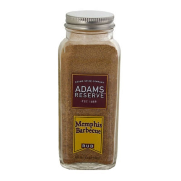 Adams Reserve Memphis Barbecue Rub