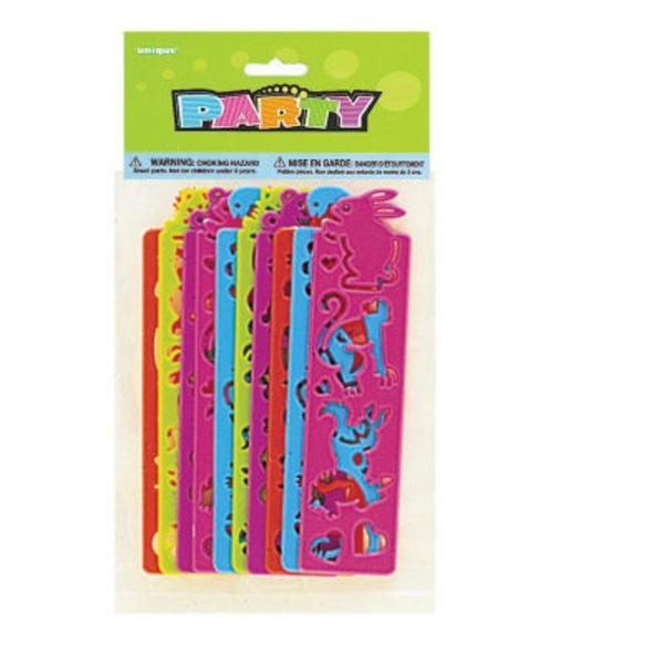 Unique Assorted Party Tracing Strips