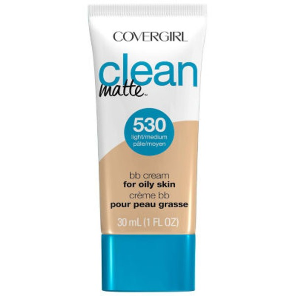 CoverGirl Clean Matte COVERGIRL Clean Matte BB Cream For Light/Medium Skin 1 fl. oz. Female Cosmetics