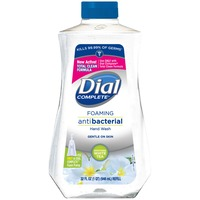 Dial Liquid Hand Soap Foaming Antibacterial Soothing White Tea Refill Hand Soap