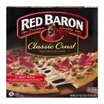Red Baron Classic Crust 4-Meat Pizza, 21.77 OZ