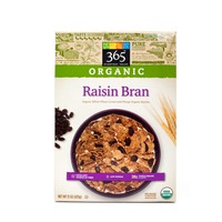 365 Organic Raisin Bran Cereal