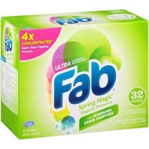 Ultra Fab Spring Magic Powder Laundry Detergent, 2.1 lbs