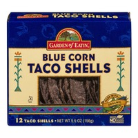 Garden of Eatin' Blue Corn Taco Shells - 12 CT