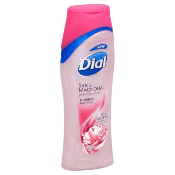 Dial Body Wash Silk & Magnolia Restoring Body Wash