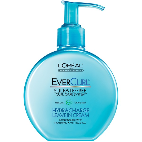Evercurl Sulfate-Free Hydracharge Leave-In Cream Curl Care System
