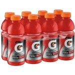 Gatorade Thirst Quencher Fierce Sports Drink, Fruit Punch + Berry, 20 Fl Oz, 8 Count
